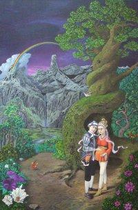 Das Hochzeitspaar (Phantastischer Realismus)