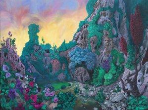 Gothland- Mons Elephantus (Phantastischer Realismus)