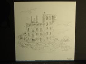 Hausruine (Zeichnung)