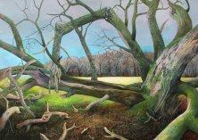 Der Drachenbaum  (Acryl auf Leinwand)