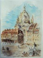 Frauenkirche Dresden (Aquarell)